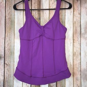 Prana Athletic Tank Built In Sports Bra